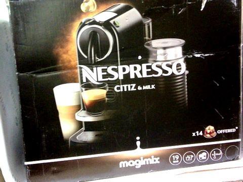 NESPRESSO, CITIZ & MILK, MAGIMIX COFFEE MACHINE