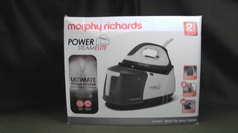 MORPHY RICHARDS POWER STEAM ELITE STEAM GENERATOR IRON 332007 GREY