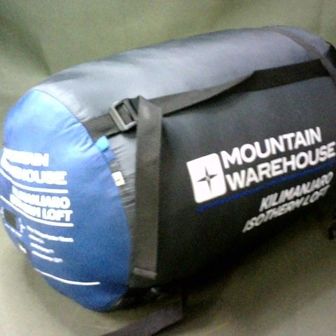MOUNTAIN WAREHOUSE KILIMANJARO ISOTHERM LOFT SLEEPING BAG - BLUE