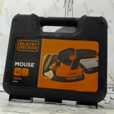 BLACK + DECKER MOUSE SANDER 120W