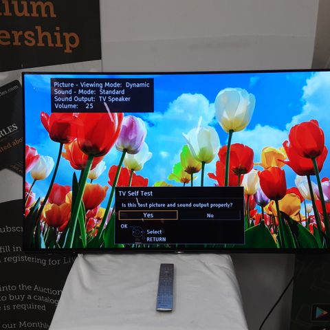 PANASONIC TX55EZ952B 55 INCH OLED 4K ULTRA HD PREMIUM SMART TELEVISION
