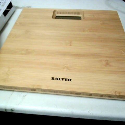 SALTER BAMBOO ELECTRIC SCALE