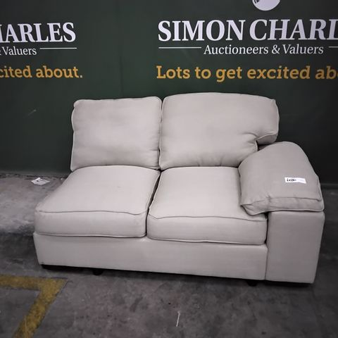 NATURAL FABRIC TWO SEATER SECTION