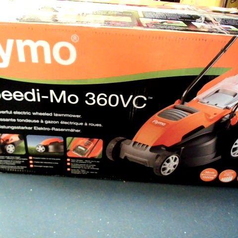 FLYMO SPEEDI-MO 360VC ELECTRIC WHEELED LAWNMOWER