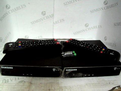 PAIR OF SAMSUNG TELEKOM RECEIVER DIGITAL HD