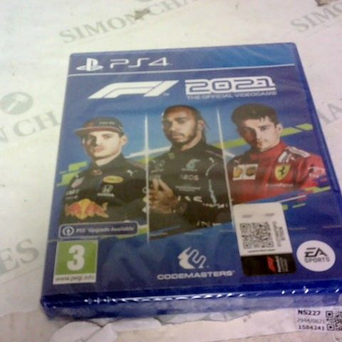 F1 2021 PLAYSTATION 4 GAME