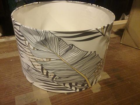 BOXED DESIGNER LAMP SHADE