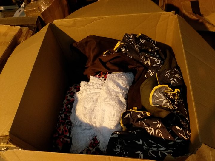 BOX OF APPROXIMATELY 34 ASSORTED ITEMS OF CLOTHING
