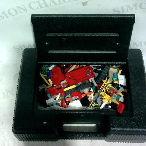 K-NEX BOX WITH ASSORTED PIECES AND MOTOR
