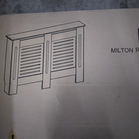 BOXED MEGAN RADIATOR COVER SIZE MEDIUM - UNFINISHED