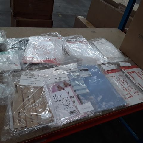 BOX OF APPROXIMATELY 58 ASSORTED ITEMS TO INCLUDE: CREATOVE EXPRESSIONS MEDIA BOARDS, MERRY CHRISTMAS SET, FRAME DIE SETS ETC