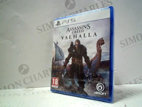 ASSASSIN'S CREED VALHALLA PLAYSTATION 5 GAME