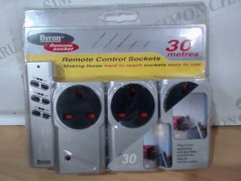 BYRON REMOTE CONTROL SOCKETS - 30M