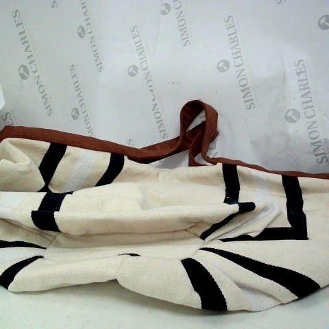 MONSOON FABRIC MIX MATERIAL SHOPPING BAG