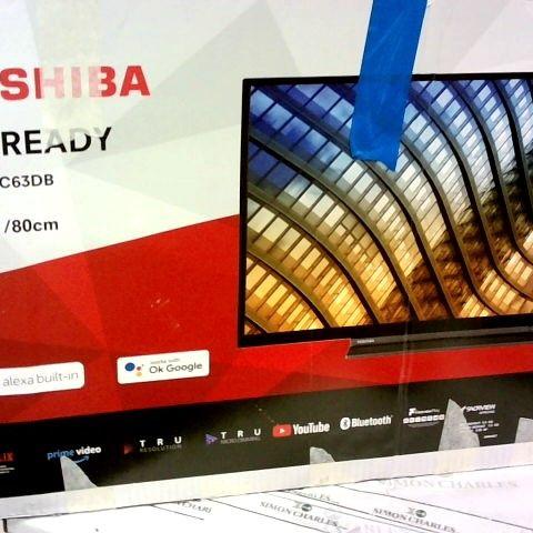 TOSHIBA 32WK3C63DB 32-INCH HD READY SMART TELEVISION