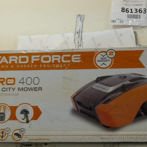 YARD FORCE LAWNMOWER