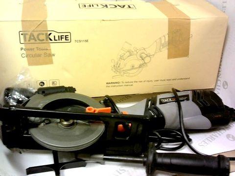 TACK LIFE POWER TOOLS CIRCULAR SAW - TCS115E