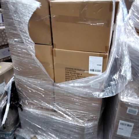 PALLET OF APPROXIMATELY 24 CASES OF PLASTIC DISPOSABLE LONG SLEEVED APRONS 150 PER CASE.