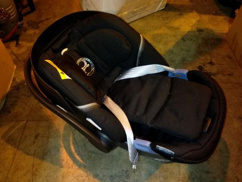 CYBEX ATOM 5 UK CAR SEAT - LAVASTONE BLACK