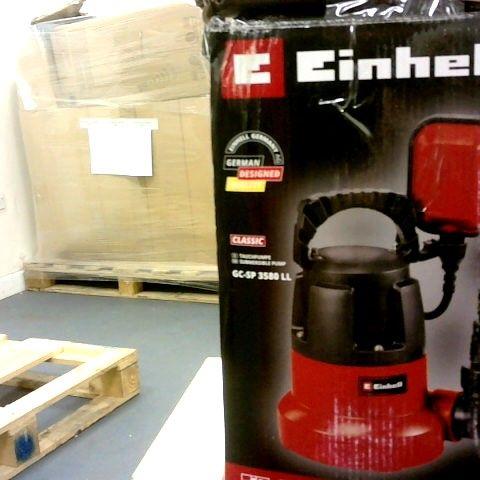 EINHELL SUBMERSIBLE PUMP GC-SP 3580 LL