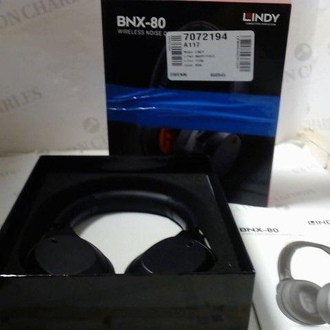 BNX-80 WIRELESS NOISE CANCELLING HEADPHONES