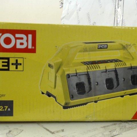 RYOBI 18V 6 PORT CHARGER