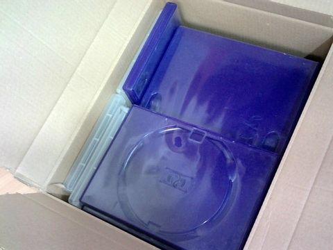 LOT OF 30 EMPTY DVD CASES
