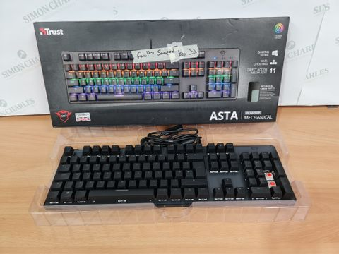 TRUST ASTA 7 COLOUR CYCLE WIRED MECHANICAL KEYBOARD