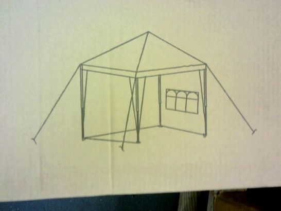 2.5 × 2.5M POP UP GAZEBO WITH 3 PIECE SIDES- COLLECTION ONLY RRP £139.99