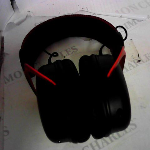HYPERX CLOUD II WIRELESS HEADSET - BLACK AND RED