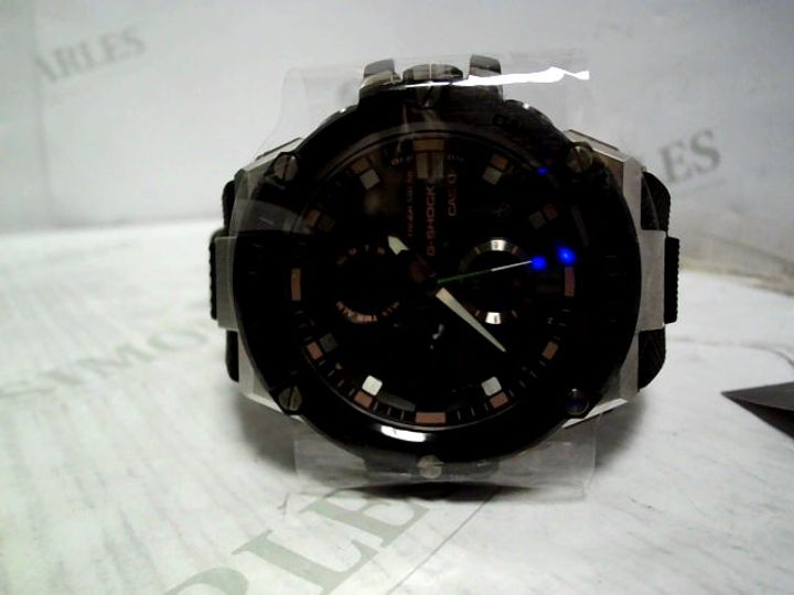 CASIO G SHOCK STEEL MULTI DIAL BLUETOOTH SILICONE WATCH