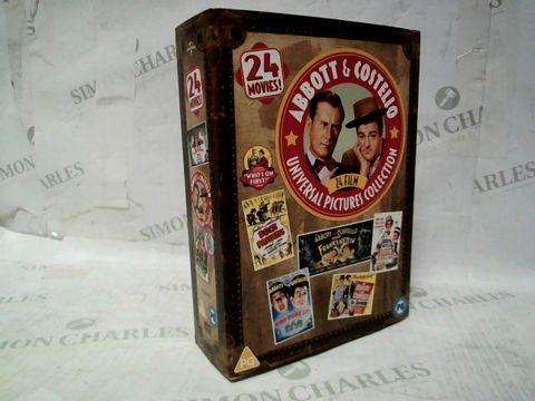 ABBOTT & COSTELLO 24 FILM UNIVERSAL PICTURES DVD COLLECTION