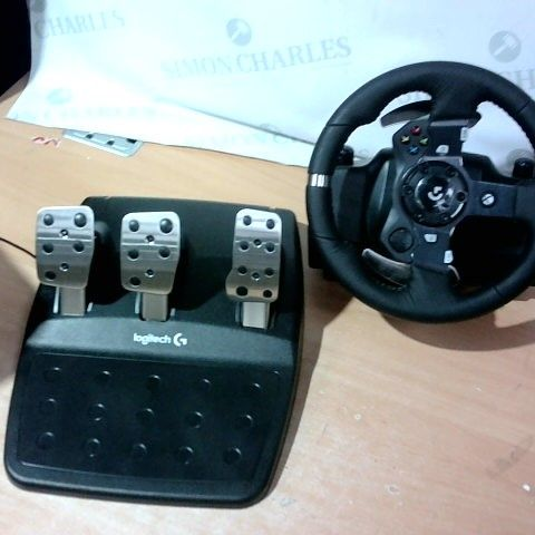 LOGITECH G920 DRIVING FORCE RACING WHEEL AND PEDALS FOR PC/MAC, XBOX ONE