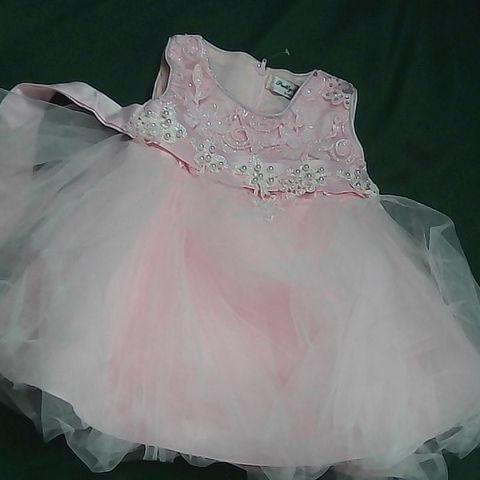 PRETTY BABY PINK TUTU DRESS 6 MONTHS