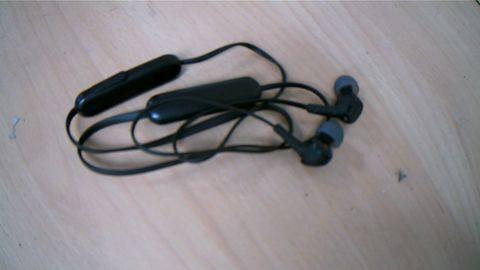 SONY BLUETOOTH EARPHONES BLACK