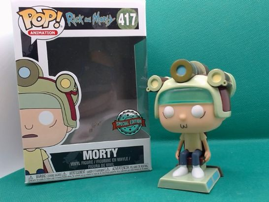 POP! ANIMATION RICK AND MORTY MORTY 417 VINYL FIGURE
