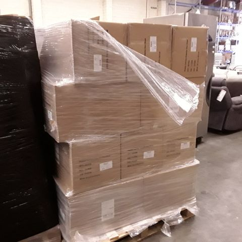 PALLET OF BOXES CONTAINING BRAND NEW FULL FACE PROTECTIVE VISOR SHIELD