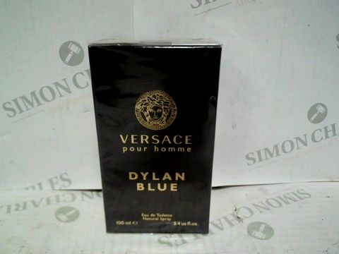 VERSACE POUR HOMME DYLAN BLUE EDT - 100ML - BRAND NEW SEALED