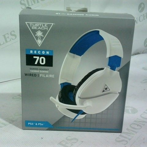 TURTLE BEACH RECON 70 WIRED GAMING HEADSET PS4