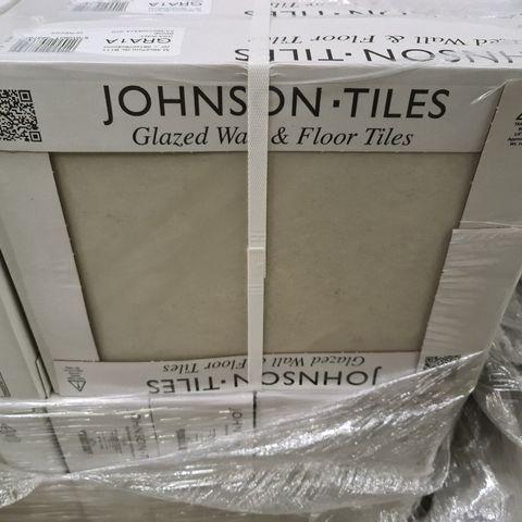 PALLET OF APPROXIMATELY 48 BRAND NEW CARTONS OF 10 GRASMERE BRACKEN BEIGE MATT WALL TILES - 36X27.5CM