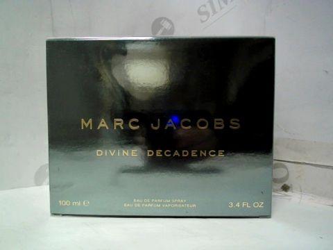 SEALED MARC JACOBS DIVINE DECADENCE EAU DE PARFUM - 100ML
