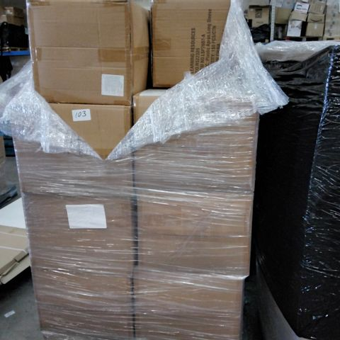 PALLET CONTAINING 19 CASES EACH CONTAINING 150 PLASTIC LONG SLEEVED APRONS