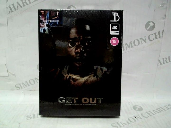 BLUPACK 008: GET OUT 4K + 2D SPECIAL EDITION BLU-RAY STEELBOOK