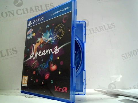DREAMS PLAYSTATION 4 GAME