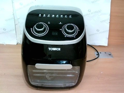 TOWER T17038 MANUAL AIR FRYER OVEN, 11 LITRE