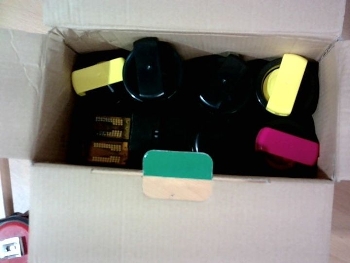 REPLACEMENT INK CARTRIDGES FOR XEROX AND FRANKING MACHINE