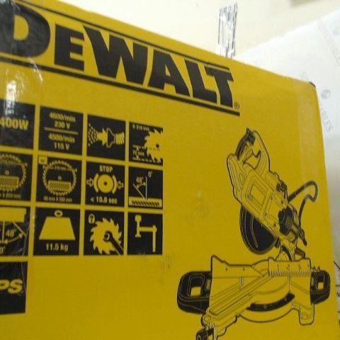 DEWALT DWS774-GB 216-MM 230V SLIDE MITRE SAW