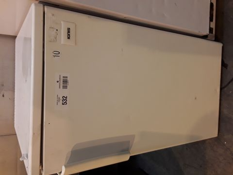 IGNIS WHITE UNDER COUNTER DOMESTIC FRIDGE