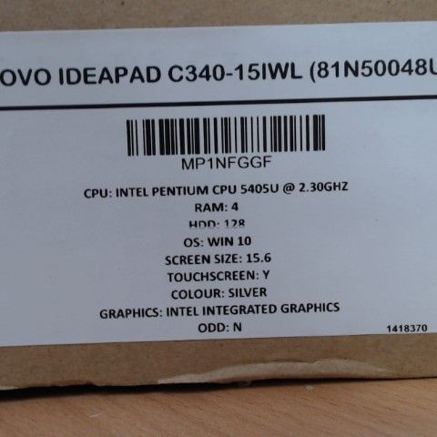 LENOVO IDEAPAD C340-15IWL LAPTOP