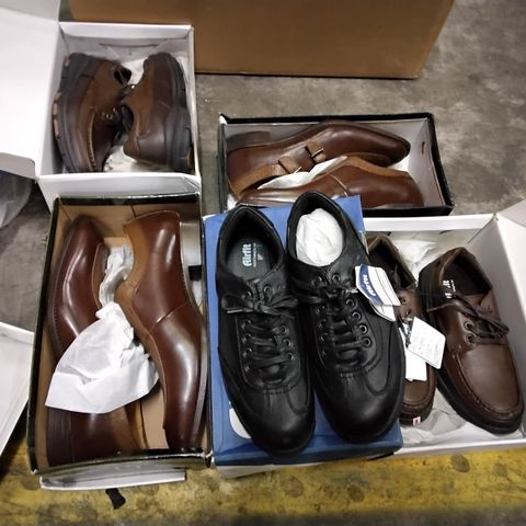 5 ASSORTED PAIRS OF MENS CASUAL SHOES